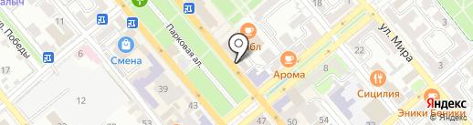 Билайн на карте Новороссийска