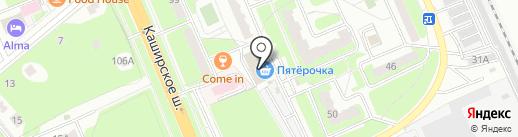 Магазин постельных принадлежностей на карте Домодедово
