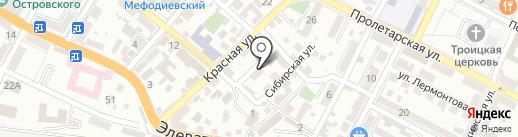 Судовой технический центр на карте Новороссийска