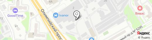 ЗАВЛифтСервис на карте Мытищ