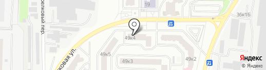 Магазин стройматериалов, сантехники и электрики на карте Мытищ