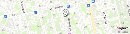 Pronto на карте Новороссийска
