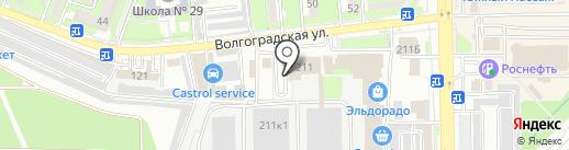 Центр взыскания неустойки с застройщика на карте Новороссийска