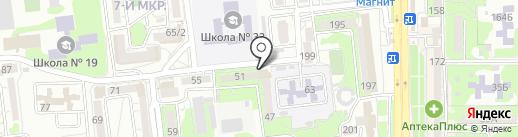 Раздолье на карте Новороссийска