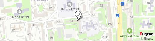 ИНТЕГРАЛ на карте Новороссийска