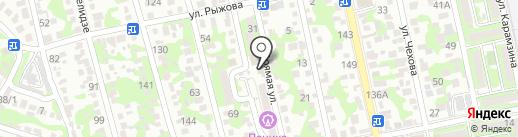 ЮГ-МОРСТРОЙ на карте Новороссийска