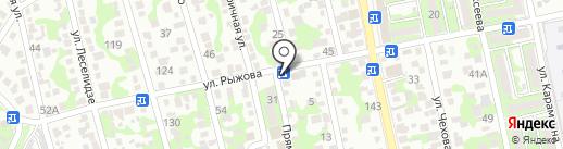 Инфини на карте Новороссийска