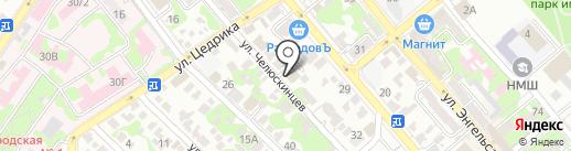 ROYAL FOREST на карте Новороссийска