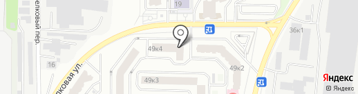 Талас на карте Мытищ