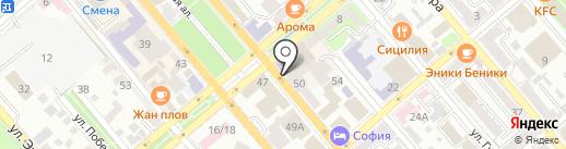 Автошкола на карте Новороссийска