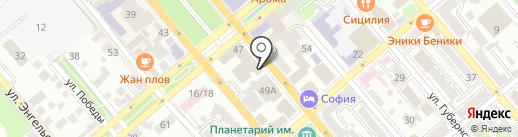 Прокуратура г. Новороссийска на карте Новороссийска
