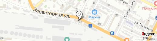 Банкомат, Банк Возрождение, ПАО на карте Новороссийска