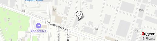 Прогресс Авто на карте Домодедово
