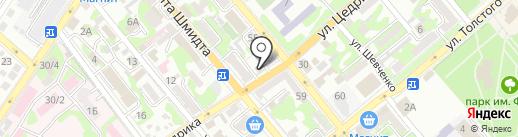 Limpid Pools на карте Новороссийска