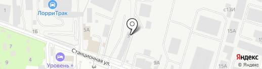 Леал на карте Домодедово