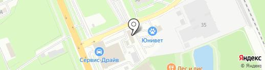 Друзья на карте Домодедово