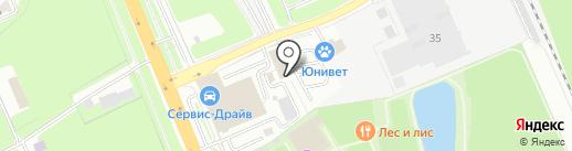 Кафе-ресторан на карте Домодедово