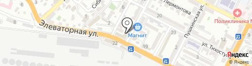 SatMaster на карте Новороссийска