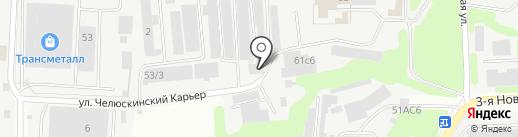 ТОР СИСТЕМС на карте Мытищ