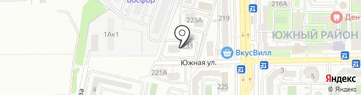 Sweet Home Studio на карте Новороссийска
