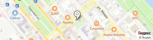 Barco на карте Новороссийска