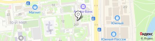 Пивной погребок на карте Новороссийска