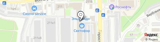 Star на карте Новороссийска