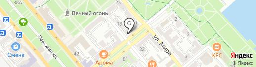 Азово-Черноморская межрайонная природоохранная прокуратура на карте Новороссийска