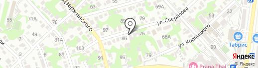 Эхо на карте Новороссийска