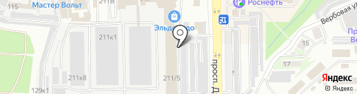 НоворосСплит на карте Новороссийска
