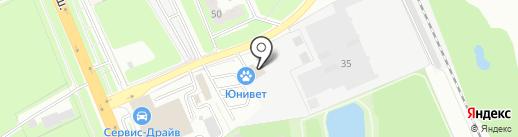 ОКНА РОСТА на карте Домодедово