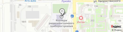 Новороссийский колледж радиоэлектронного приборостроения на карте Новороссийска