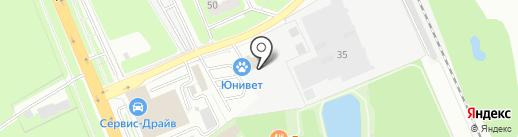 Аква-Быт-Сервис на карте Домодедово