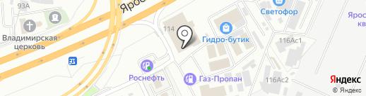 ТракСервис на карте Мытищ