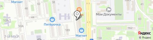 Апрель на карте Новороссийска