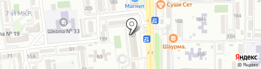 Алкотека на карте Новороссийска