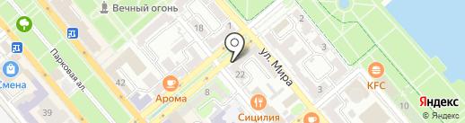 Лариса на карте Новороссийска