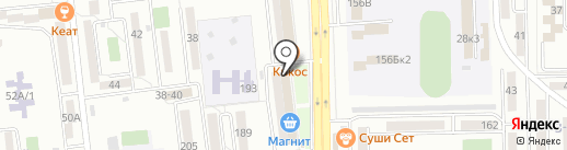 Фортуна-Новороссийск на карте Новороссийска