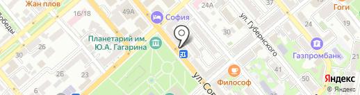 Роспечать на карте Новороссийска