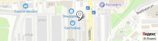 Торгово-монтажная компания на карте Новороссийска
