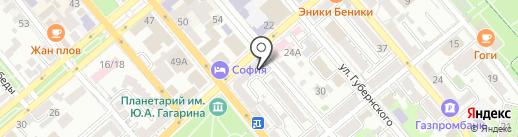 Хозяйственно-строительный магазин на карте Новороссийска