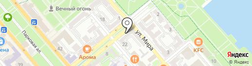 Новороссийский политехнический институт на карте Новороссийска