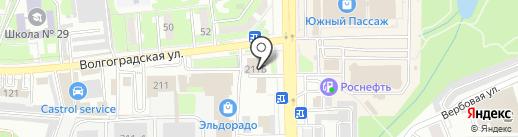 Драйв Сервис на карте Новороссийска