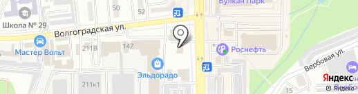 Парус Групп на карте Новороссийска