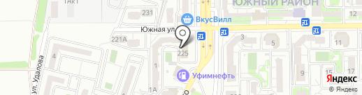 Полив Юг на карте Новороссийска