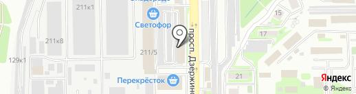 Грэм на карте Новороссийска