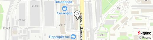 Юдора на карте Новороссийска