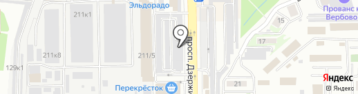 Бутик колясок на карте Новороссийска