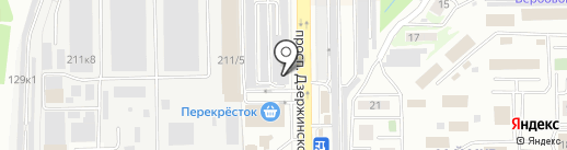 Спектрум на карте Новороссийска