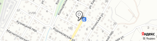V@DOS на карте Новороссийска